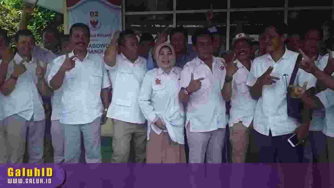 Kampanye Prabowo di Ciamis