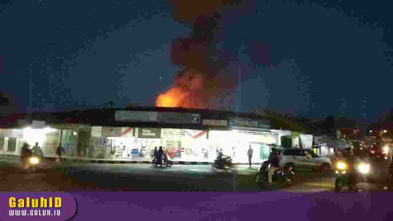 Pasar Ciamis Kebakaran