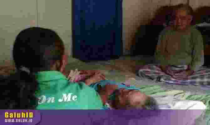 lansia lumpuh di Ciamis