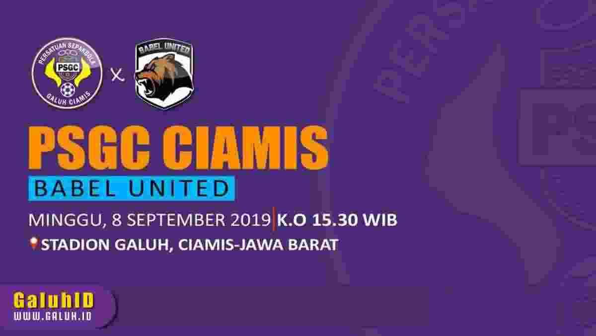 Prediksi PSGC Ciamis vs Babel United