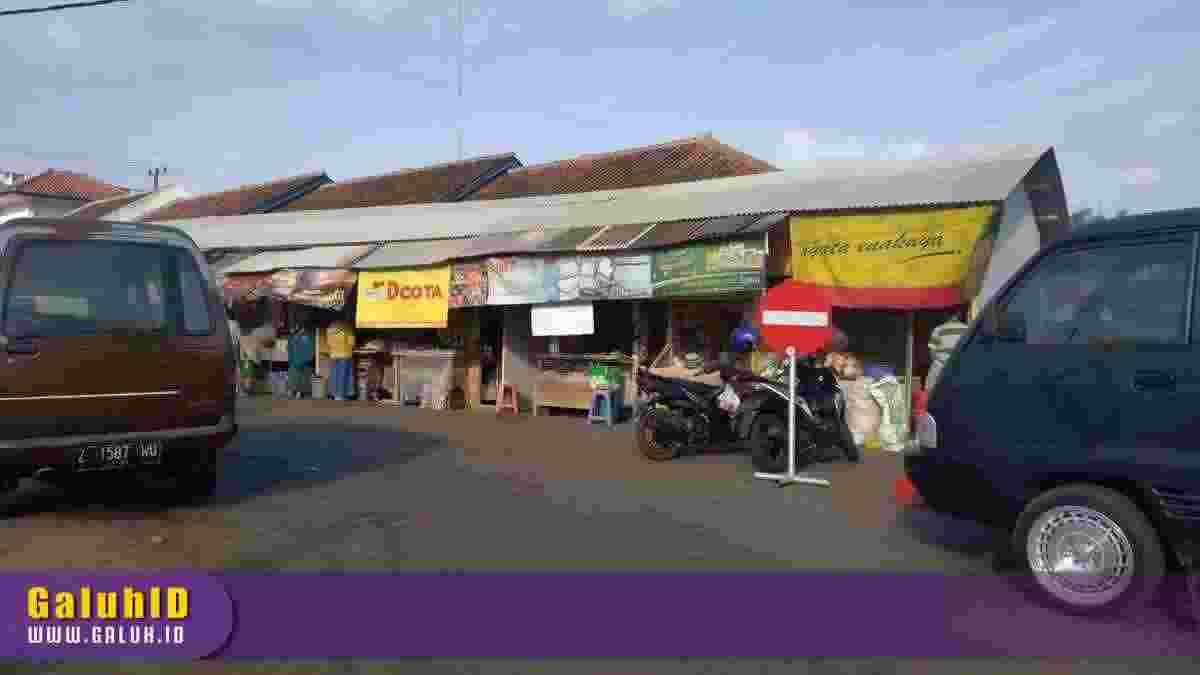 Pedagang Pasar Ciamis