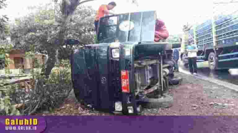 Kecelakaan Mobil Dinas PA Ciamis