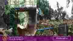 Jembatan ambruk di Sindangkasih