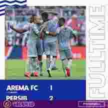 Persib Bandung Hajar Arema FC