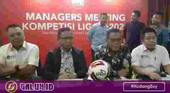 Manager Meeting Liga 2 2020