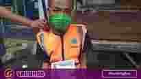 HMI Ciamis bagikan masker