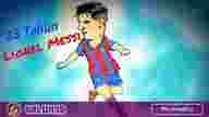 Leonal Messi ulang tahun