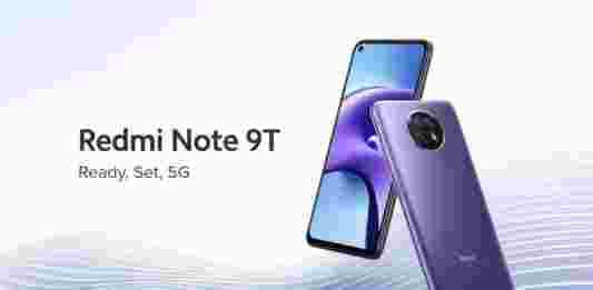 HP Xiaomi Redmi Note 9T